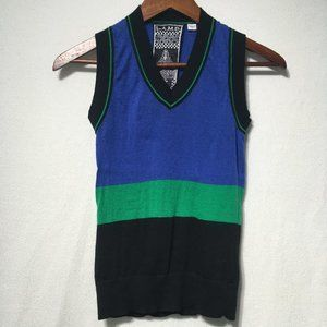 L.A.M.B Striped Sweater Vest
